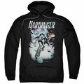 Harbinger pull-over hoodie 12 adult black