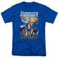 Harbinger t-shirt Foot Forward mens royal blue