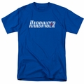 Harbinger t-shirt Logo mens royal blue