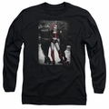 Harley Quinn adult long-sleeved shirt Arrest black
