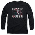 Harley Quinn adult long-sleeved shirt Harley Bold black