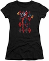 Harley Quinn juniors t-shirt Pow Pow black