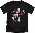 Harley Quinn kids t-shirt Harley And Joker black