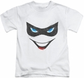 Harley Quinn kids t-shirt Harley Face white