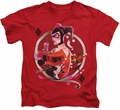 Harley Quinn kids t-shirt Harley Q red