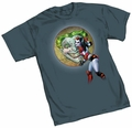 Harley Quinn Kisses By Conner T-Shirt