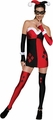 Harley Quinn Minidress womens costume