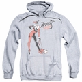 Harley Quinn pull-over hoodie Harley Hammer adult athletic heather