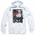 Harley Quinn pull-over hoodie House Call adult white