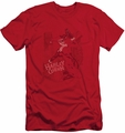Harley Quinn slim-fit t-shirt Harley's Packing mens red