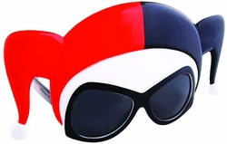 Harley Quinn Sunstaches Sunglasses