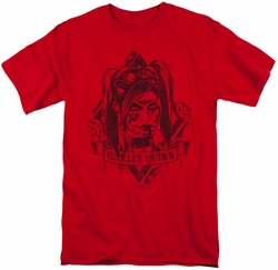 Harley Quinn t-shirt Diamond mens red