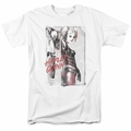 Harley Quinn t-shirt Ink Wash Harley mens white