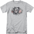 Harley Quinn t-shirt Sketch mens athletic heather