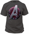 Hawkeye assemble adult tee charcoal t-shirt