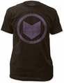 Hawkeye Distressed Icon 30/1 black t-shirt pre-order
