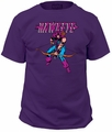 Hawkeye t-shirt Comic Portrait Trad Fit 18/1 mens purple pre-order