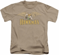 Hawkman kids t-shirt with Weapon sand