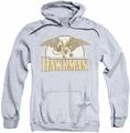 Hawkman pull-over hoodie Fly By adult athletic heather