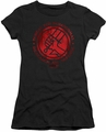 Hellboy II juniors t-shirt BPRD Logo black