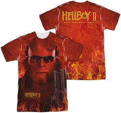 Hellboy II mens full sublimation t-shirt Big Red