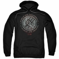 Hellboy II pull-over hoodie BPRD Stone adult black