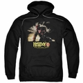 Hellboy II pull-over hoodie Poster Art adult black