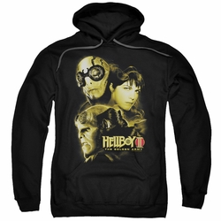 Hellboy II pull-over hoodie Ungodly Creatures adult black