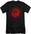 Hellboy II slim-fit t-shirt Bprd Logo mens black