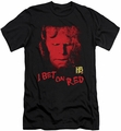 Hellboy II slim-fit t-shirt I Bet On Red mens black