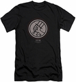 Hellboy II slim-fit t-shirt Mignola Style Logo mens black