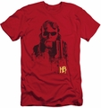 Hellboy II slim-fit t-shirt Splatter Gun mens red