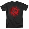 Hellboy II t-shirt BPRD Logo mens black
