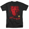 Hellboy II t-shirt I Bet On Red mens black