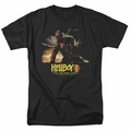 Hellboy II t-shirt Poster Art mens black