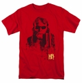 Hellboy II t-shirt Splatter Gun mens red