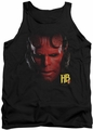 Hellboy II tank top Hellboy Head mens black