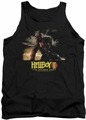 Hellboy II tank top Poster Art mens black