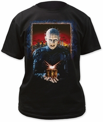 Hellraiser hell on earth adult tee mens black pre-order