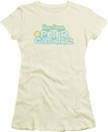 Here Comes Peter Cottontail juniors t-shirt Logo cream
