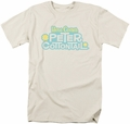 Here Comes Peter Cottontail t-shirt Logo mens cream
