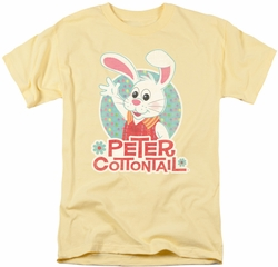 Here Comes Peter Cottontail t-shirt Wave mens banana