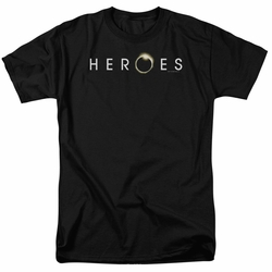 Heroes t-shirt Logo mens black