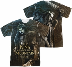 Hobbit mens full sublimation t-shirt King