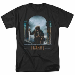 Hobbit t-shirt Bilbo Poster mens black