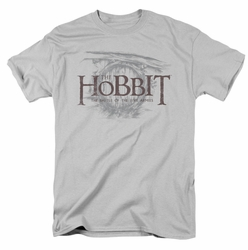 Hobbit t-shirt Door Logo mens silver