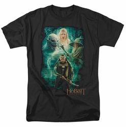 Hobbit t-shirt Elrond's Crew mens black