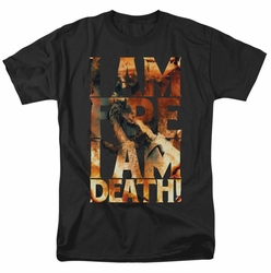 Hobbit t-shirt I Am Fire mens black