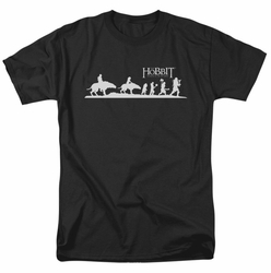 Hobbit t-shirt Orc Company mens black