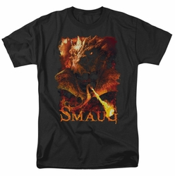 Hobbit t-shirt Smolder mens black